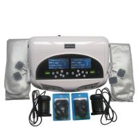 Far Infrared Heating Massage Dual Foot Spa Machine With Big LCD Screen And 5 Models For Detoxification Manufactures