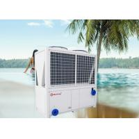 Quality Spa Sauna Swimming Pool Heat Pump Water Heater 84kw High Temperature 55°C Bubble Pool Heat Pump for sale