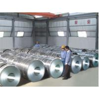 70 HRB / G300 - G350 Galvalume Galvanized Steel Coil High Tensile Strength Manufactures