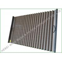 Buy cheap FLC 500 Pinnacle Shake Screen Hookstrip Pinnacle Panel SS Grade 316 Raw Material from wholesalers