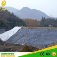 China WATERPROOF GEOMEMBRANE hdpe plastic roll sheet pe liner on sale