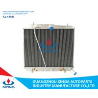 Brazed Full Aluminum Auto Radiators For 2005 Toyota Hiace Cooling System Manufactures