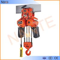 Heavy Load Electric Chain Hoist For Stage Hoist , Electric Wire Rope Hoists Manufactures