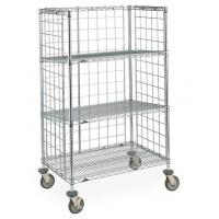 Knock down retail heavy duty wire display stand rack shelf / storage shelving units Manufactures