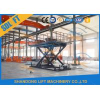 China 3T 3M Hydraulic Scissor Car Lift For Home Garage Villa Basement Car Parking Lift on sale