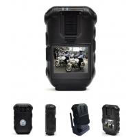 Body Worn Video Recorder 1080p Top Rated Police Body Cameras With 2.0 Inch Monitor Manufactures