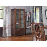 Quality Solid wooden with Glass Door Sideboards for Wine Cabinet in Dining Room for sale