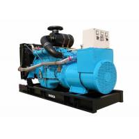 Water Cooled IVECO 300KW Used Generator Sets 3300*1150*1700 AVR Control System Manufactures