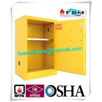 Flammable Liquid Safety Storage Cabinets Adjustable Shelf For Chemical Hazardous Goods Manufactures