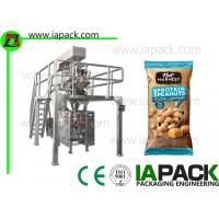 40g Nuts Polythene Packaging Machine / Automatic Pouch Packing Machine Manufactures