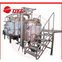 2000L Craft Industrial Beer Making Machine Mirror Polish Inner Surface CE Manufactures
