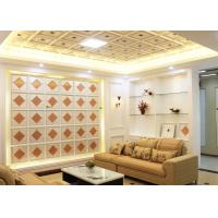 Interior Decorative Ceiling Panels Artistic for Living Room , SGS Test Manufactures