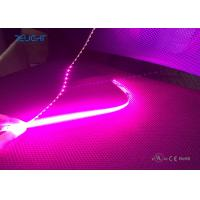 Buy cheap Copper Material 5050 Waterproof Flexible Led Light Strip Pink Color 1000 X 10mm from wholesalers