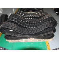 Construction Machinery Track Loader Rubber Tracks 300 * 52.5 * 80 For Case Komatsu Manufactures