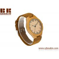 2018 Fashion Simple Clock Ladies Man Wooden Watches With Your Logo Manufactures