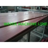 China WPC PVC Plastic Board Production Line on sale