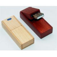OEM Promotional Swivel Wooden Usb 2.0 Flash Drive Memory stick cheap usb drive Manufactures