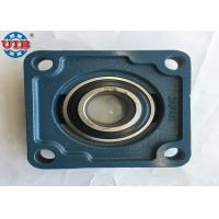 UCF207 Square Flange Pillow Block Bearings , HT200 HT250 Cast Iron Ball Bearings Manufactures