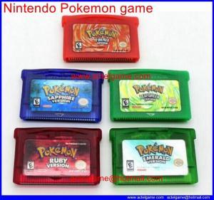 Nintendo Pokemon game Manufactures