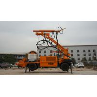 Wet Mix Concrete Sprayer Machine KC3017 Fully Hydraulic Control 400 Mm Ground Clearance Manufactures