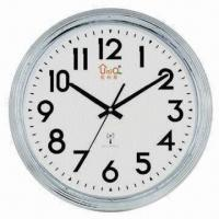 Radio Controlled Wall Clock, Customized Colors and Dials are Welcome Manufactures