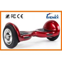 China Venky 10 Inch Self Balancing Scooter , two wheel motorized scooter with samsung battery on sale