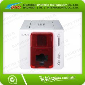 China Evolis Zenius pvc card printer card machine on sale