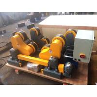 10T Wireless Control Pipe Welding Rotator with 500 - 3200 mm Tank Diameter Manufactures