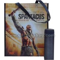 Buy cheap GX2012042 Shopping Bag 4 sides cool & text logo printing with glossy lamination from wholesalers