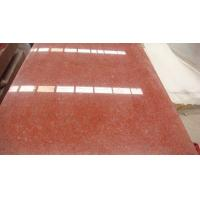 Quality Cheap Wholesale China Red Color Rough Granite Kitchen Countertop Floor Tiles 50x50 Slab for sale