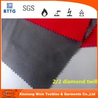 In stock YSETEX EN11612 certificated 360gsm flame retardant fabric in grey and red Manufactures