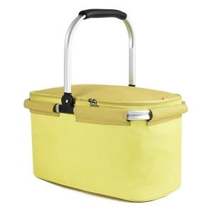 China Camping Outdoor Tote Insulated Picnic Basket Food Cooler Bag on sale