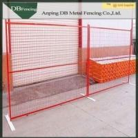 Low Carbon Steel Canada Temporary Fence Panels , Temporary Backyard Fencing Manufactures