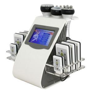 Multi Functional Vacuum Fat Cavitation Machine / Lipo Slimming Machine Manufactures