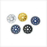 China ISO 9001 4 Inch Wheel Cup Diamond Grinding Disc With Heat / Wear Resistance on sale