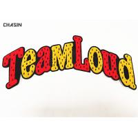 Buy cheap Teamloud Letters Sewn Chenille Towel Patches For College Jackets from wholesalers