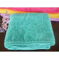 Quality China supplier Microfiber coral fleece towels for bath cleaning for sale