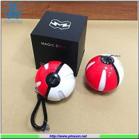 Buy cheap Warrantte time 1 year Pokemon ball 10000mah power bank with night lighting from wholesalers