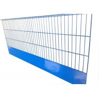 China Blue Color Edge Protection Barriers Building Protection Q195 Low Carbon Steel Wire on sale