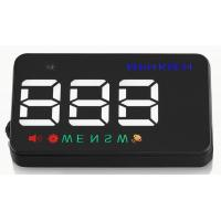 Ouchuangbo HUD 3.5 inch Car Head Up Display Windshield Projector Speedometer Overspeed - GPS Satellite 2 Dispaly Mode