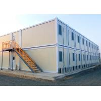 Economical Practical Steel Container Houses , Safe Steel Shipping Container Homes Manufactures