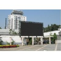 China Commercial LED Billboard Advertising , Advertising Screen Display No Color Excursion on sale