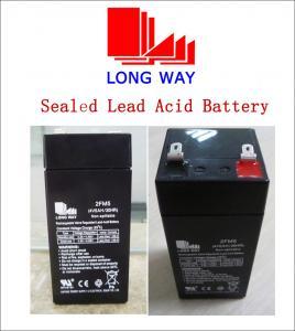 4volt Emergency Lighting UPS Lighting Electric Bicycle Alarm system VRLA Lead Acid Battery UPS Batteries 2FM5 (4V5AH) Manufactures