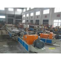 WPC / PVC Foam Sheet Making Machine , Celuka Foam Sheet Extrusion Line Manufactures
