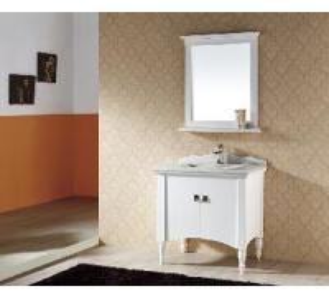 Solid Wood Bathroom Cabinet / Furniture / Vanity (MJ-065) Manufactures
