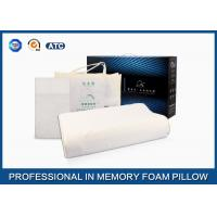 Contour Wave Massage Breathable Nature Latex Foam Pillow , Latex International Pillow Manufactures