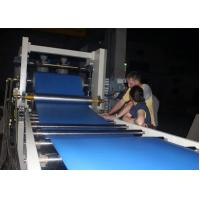 Semi Automatic PP Sheet Extrusion Line PE Sheet Making Machine For Packing Construction Manufactures