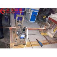 Power Saving Horizontal Continuous Casting Machine For Copper Rod / Copper Plate