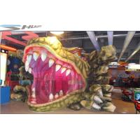 Customized Mini Mobile 5D Cinema Dinosaur Box With Simulation System Manufactures