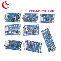 China TP4056 5V 1A smt board assembly Micro USB 18650 Lithium Battery printed circuit board assemblies on sale